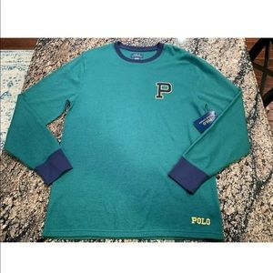 Polo Ralph Lauren Mens Patch Thermal Long Sleeve